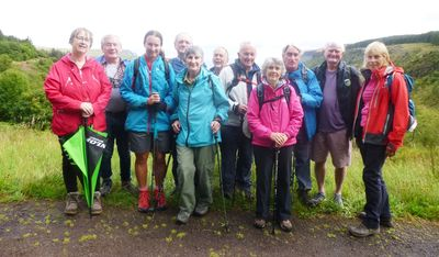 The Walkers in the 'Queen of the Glens'