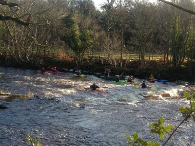 Roe Valley kayakers