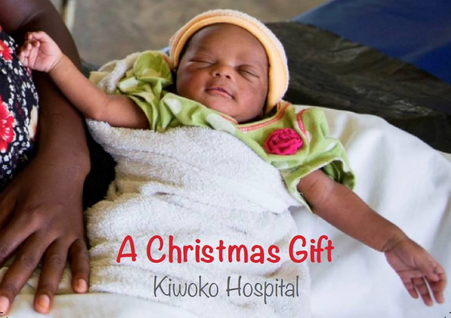 Kiwoko Hospital Christmas Cards 2018